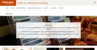 Oregon State University Center for Teaching and Learning Services Landing Page