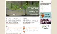 crop and soil science front page