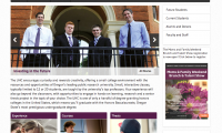 honors college front page