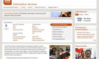 oregon state university's information services front page