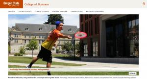 Oregon State University College of Business - 2016