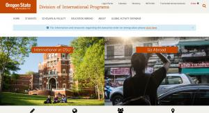 Oregon State University International Programs Home Page - 2017