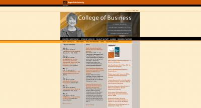 College of Business Home Page - 2008
