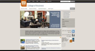 Oregon State University College of Business Home Page 2011