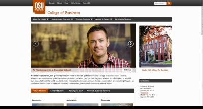 Oregon State University College of Business Home Page 2014