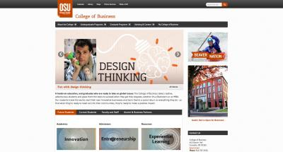 Oregon State University College of Business Home Page 2015