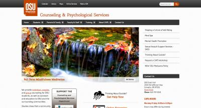Oregon State University Counseling and Psych Services Home Page - 2015