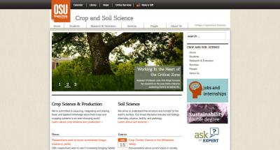 Oregon State University College of Ag Sci - Crop and Soil Science Home Page - 2013