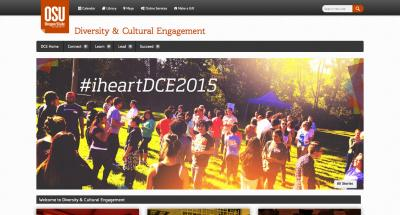 Oregon State University Diversity and Cultural Engagement Home Page - 2015