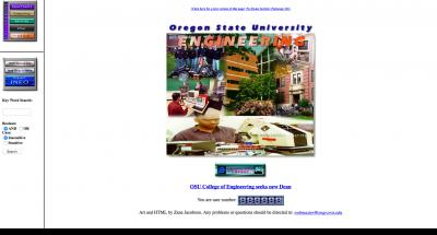 College of Engineering Home Page - 1996
