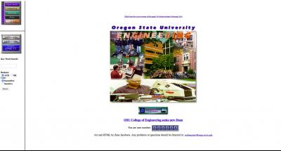 Oregon State University College of Engineering Home Page 1997