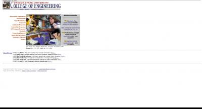Oregon State University College of Engineering Home Page 2001