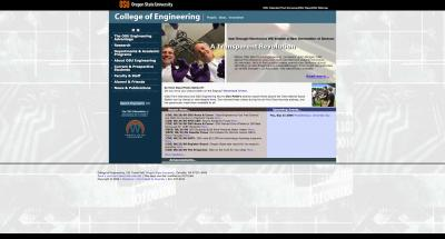 Oregon State University College of Engineering Home Page 2006