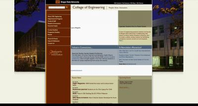 Oregon State University College of Engineering Home Page 2007