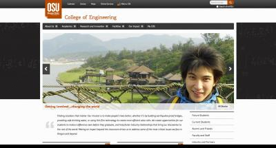 Oregon State University College of Engineering Home Page 2014