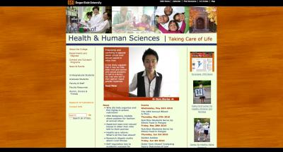 Oregon State University College of Public Health Home Page - 2010