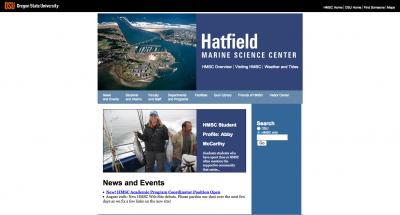 Oregon State University Hatfield Marine Science Center Home Page - 2006