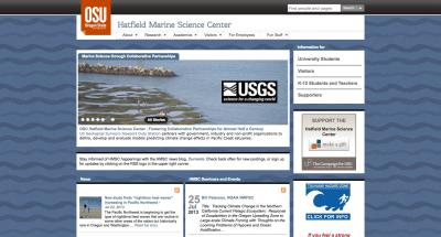Oregon State University Hatfield Marine Science Center Home Page - 2013