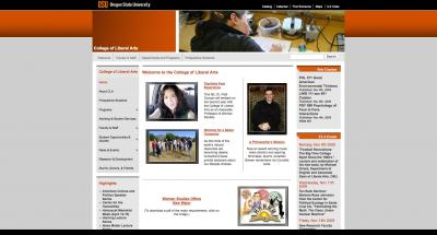 Oregon State University College of Liberal Arts Home Page 2009