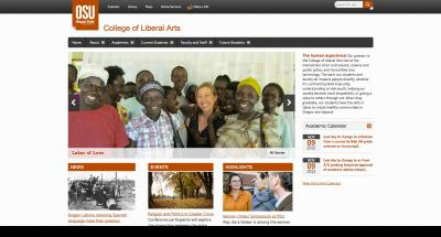 Oregon State University College of Liberal Arts Home Page 2012