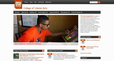 Oregon State University College of Liberal Arts Home Page - 2015
