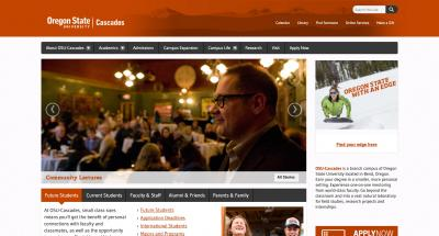 Oregon State University Cascades Home Page - 2014