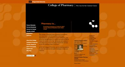 Oregon State University College of Pharmacy Home Page - 2007 Archive