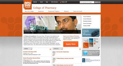 Oregon State University College of Pharmacy Home Page - 2011