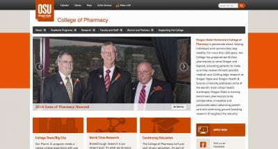 Oregon State University College of Pharmacy Home Page - 2014