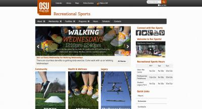 Oregon State University Recreational Sports Home Page - 2014