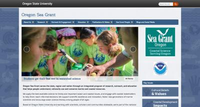 Oregon State University Oregon SeaGrant Home Page - 2017