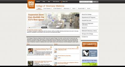 Oregon State University College of Veterinary Medicine Home Page - 2011