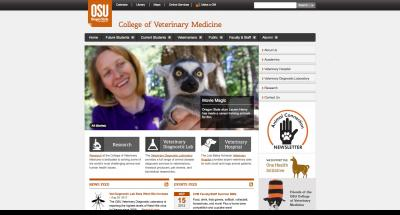 Oregon State University College of Veterinary Medicine Home Page - 2012